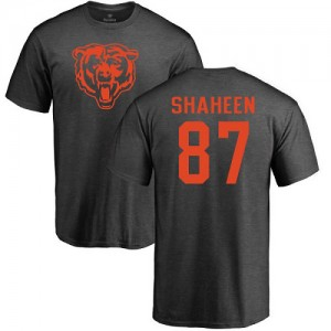 Adam Shaheen Ash One Color - #87 Football Chicago Bears T-Shirt