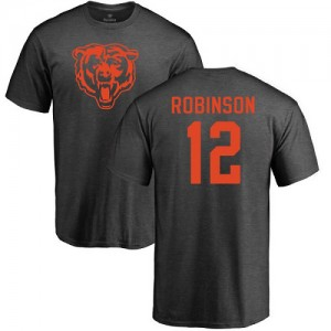 Allen Robinson Ash One Color - #12 Football Chicago Bears T-Shirt