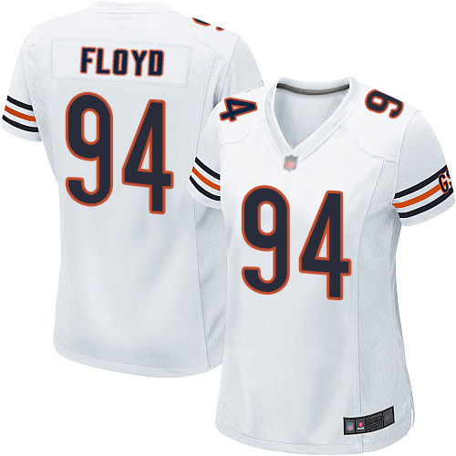Game Women's Leonard Floyd White Road Jersey - #94 Football Chicago Bears